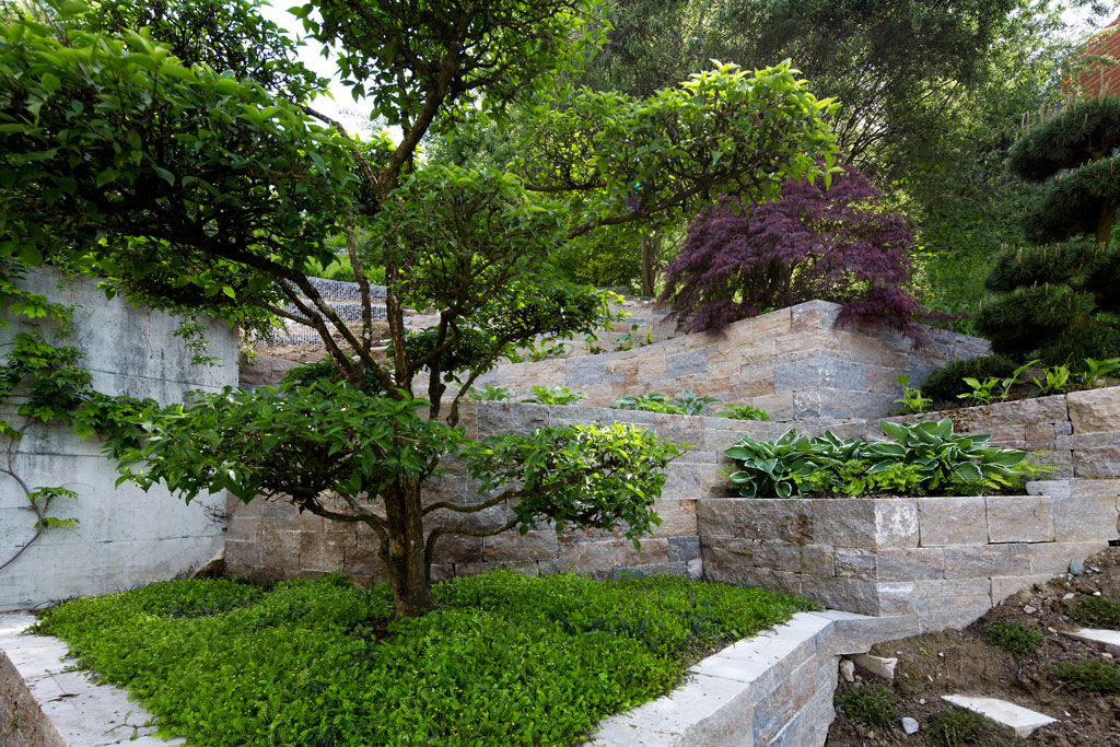 Privater Garten an Hanglage, Walchwil