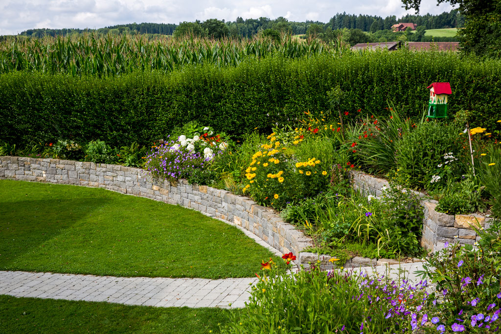 Privater Garten in Dietwil