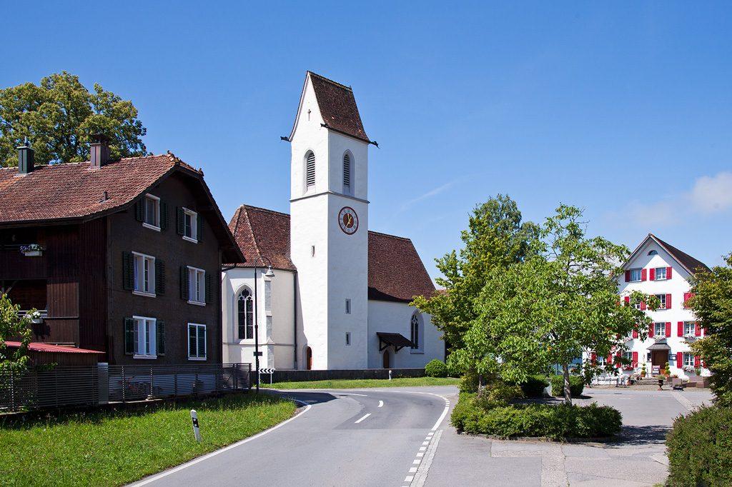 Hünenberg, Kirche St. Wolfgang