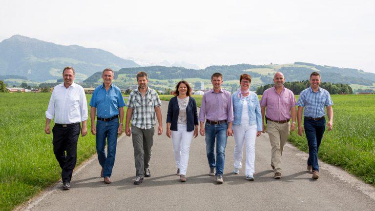 Vorstand Gewerbeverein Hünenberg