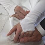 Hochzeit Andrea und Marcel, Hände des Brautpaares