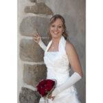 Hochzeit Andrea und Marcel, eine coole, elegante Braut