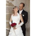 Hochzeit Andrea und Marcel, glückliches Brautpaar