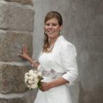 Hochzeit Barbara und Tobias, Porträt der Braut