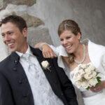 Hochzeit Barbara und Tobias, ein fröhliches, glückliches Brautpaar