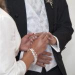 Hochzeit Barbara und Tobias, anstecken der Ringe