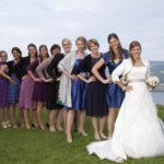 Hochzeit Barbara und Tobias, Gruppenbild mit allen Kolleginnen der Braut