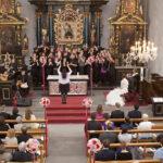 Hochzeit Christina & Marcel, Gospelchor in der Kirche