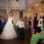 Hochzeit Christina & Marcel, Freude pur inmitten von Seifenblasen