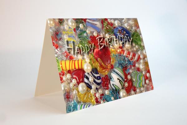 Farbenfrohe Geburtstagsgrüsse