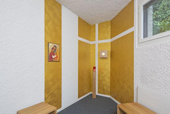 Gebetsraum in der Kirche Heilig Geist, Hünenberg