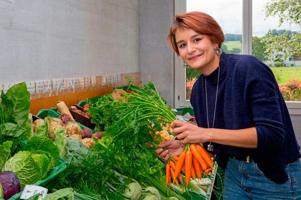 Gemüse- und Beerenanbau, Karotten