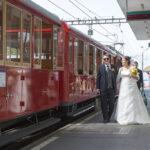 Hochzeit Monika & Roger, die Rigibahn in Vitznau