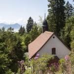 Hochzeit Monika & Roger, Bergkapelle auf der Rigi