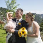 Hochzeit Monika & Roger, vor der Taufe