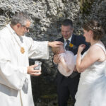 Hochzeit Monika & Roger, Taufakt