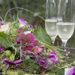 Hochzeit Nicole & Matthias, Stilllife Bouquet & Champagner