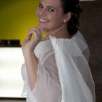 Hochzeit Nicole & Matthias, eine kecke Braut