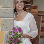 Hochzeit Nicole & Matthias, verträumte Braut