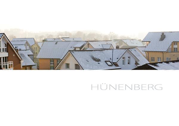 Dächer von Hünenberg