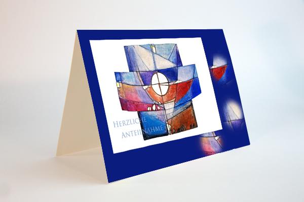 Kunstvolles Kreuz in der Kapelle Unterägeri