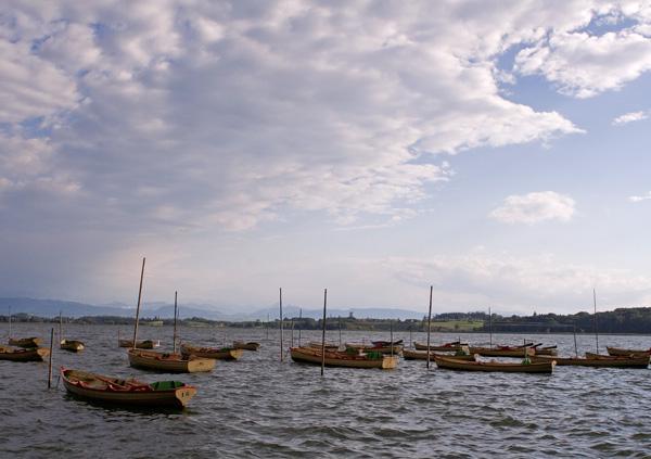 Schiffe auf dem Pfäffikersee
