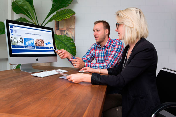 Webdesign, Kundengespräch